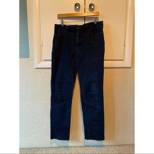 NYDJ, boot cut, dark wash, 14